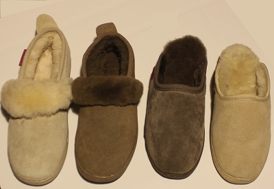 Schaffell-Hausschuh (Anti-Kalte-Füße)